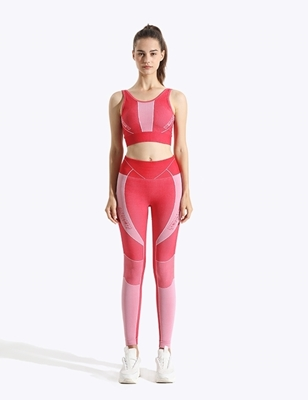 Swirl Seamless  Moisture Wicking Sports Yoga legging